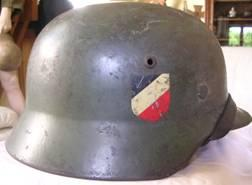 M35 WW2 German Helmet