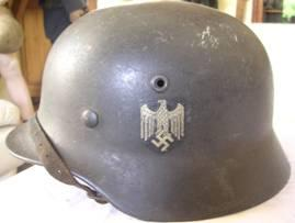German M40 helmet luftwaffe