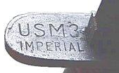 US M3 knife marking
